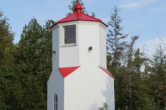 Restored Baileys Harbor Range Lighthouse